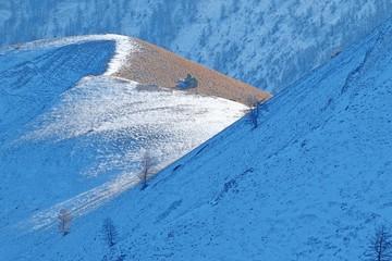 Canvas Prints Blue jeans landscape