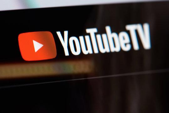 YoutubeTV  site menu