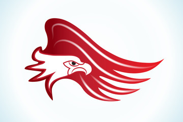 Eagle logo icon vector