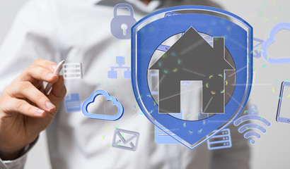 Smart home and future concept