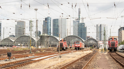 Frankfurter Hauptbahnhof Rückseite
