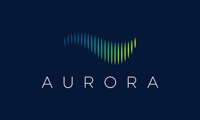 Aurora Logo Fototapete