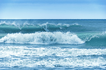 Breakwater at the German North Sea coast