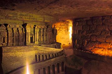 Deurstickers Rome Catacombs 2