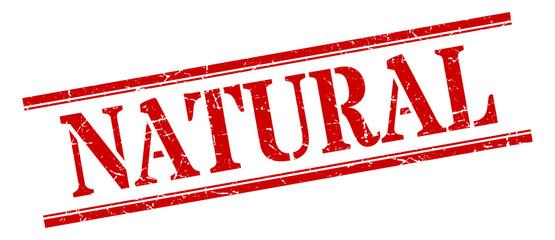natural stamp. natural square grunge sign. natural Wall mural