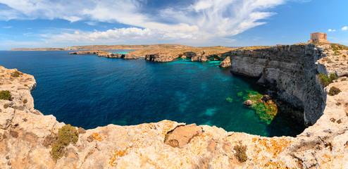Fototapete - Maltese summer landscape