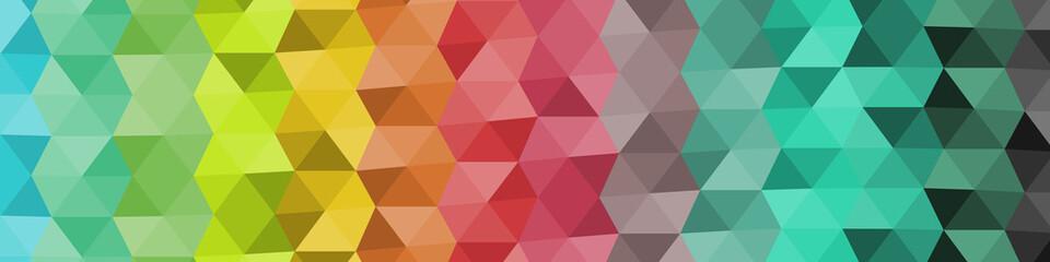 Abstract Delaunay Voronoi trianglify Generative Art background illustration Fototapete