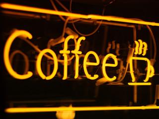 "Neon Sign """"Coffee"""""