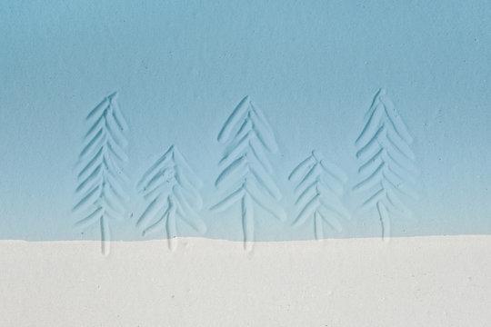 Winter Trees #3
