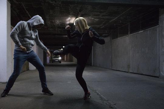Krav Maga civil self-defense training