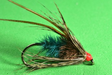 Longhorn Sedge trout fly imitation