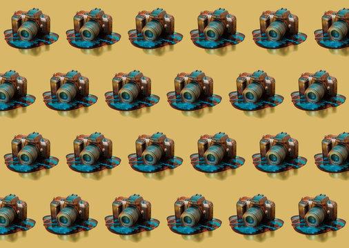 Sparkling Camera Pattern