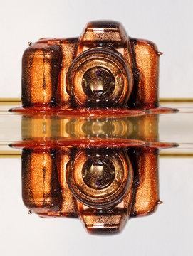 Sparkling Camera Mirror