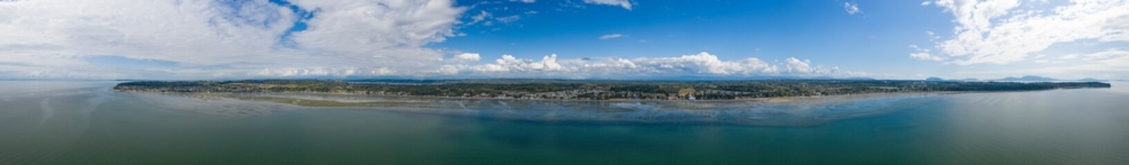 Birch Bay Washington Waterfront Coast Panorama
