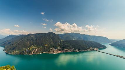 Garden Poster Scandinavia Vista sul lago di Lugano