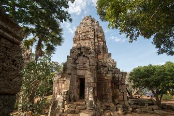 CAMBODIA BATTAMBANG WAT BANAN TEMPLE