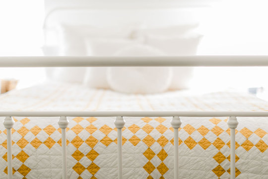 Quilt on a Bed