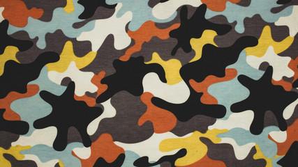Fototapeta camouflage seamless pattern