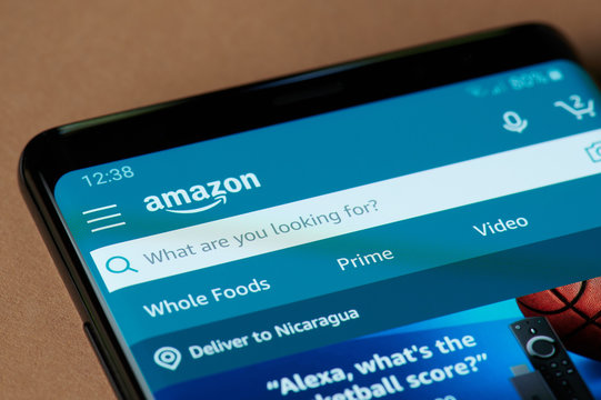 Search in amazon application
