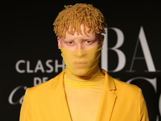 Shaun Ross attends the Harper's Bazaar celebration of 'ICONS By Carine Roitfeld' at The Plaza Hotel during New York Fashion Week in Manhattan