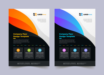 Professional and Creative Business Flyer / Poster Design Template
