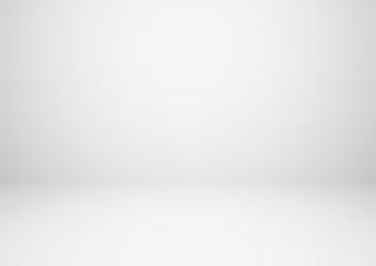 Wall Mural - Empty gray studio room vector background