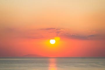 Sunrise over the Black Sea Wall mural