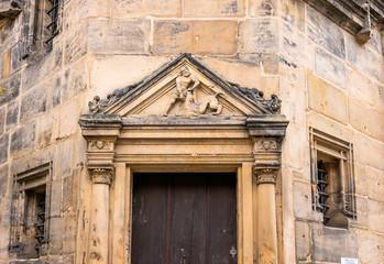 Wall Mural - Türportal im Renaissanceflügel der alten Hofhaltung in Bamberg