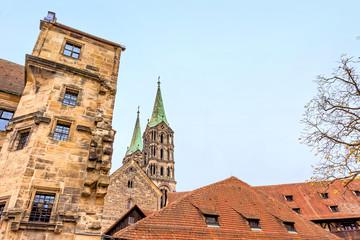 Wall Mural - Am Domplatz in Bamberg
