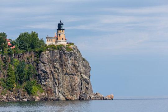 Split Rock Lighthouse Scenic Landscape