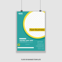 flyer design vector template collection