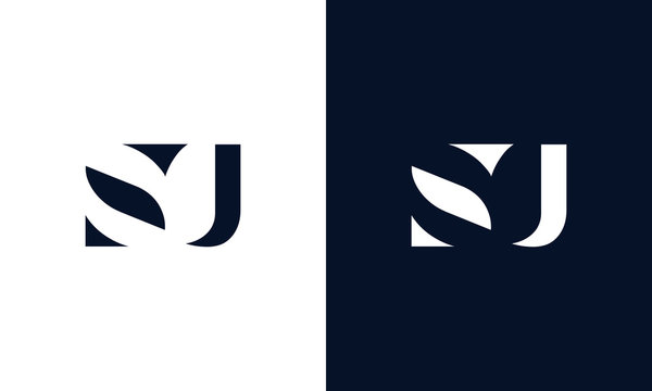 Abstract letter SU logo. This logo icon incorporate with abstract shape in the creative way.