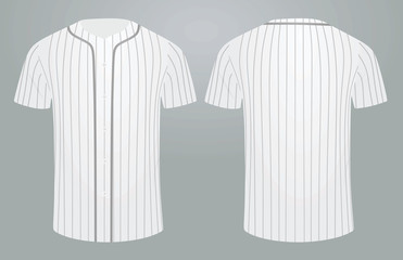 Baseball shirt. vector illustration