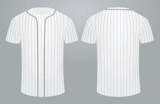 Baseball shirt. vector illustration