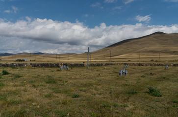 cimitery in Sevan for German soldiers