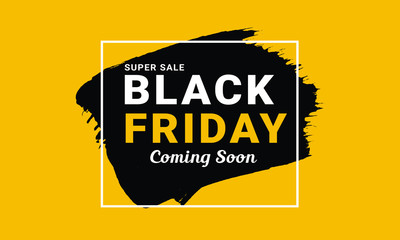 Black Friday  Promo Vector  Banner Design
