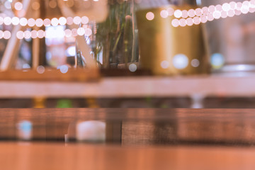 Photo of bright shiny beautiful blur bokeh of bistro like bubbles with copy space use as backdrop, background, wallpaper.
