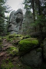 Mystische Felsformation Drachenkopf