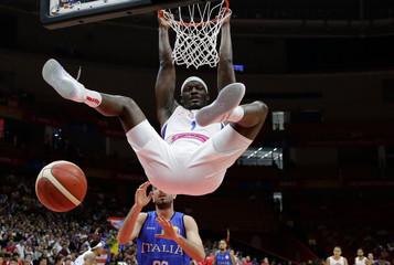 Basketball - FIBA World Cup - Second Round - Group J - Puerto Rico v Italy