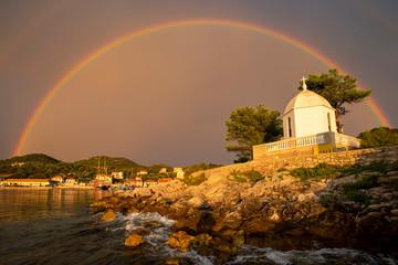 Arcobaleno in Croazia a Sale