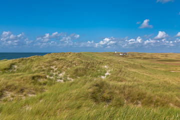 Island of Sylt, Germany. Landscape near List.