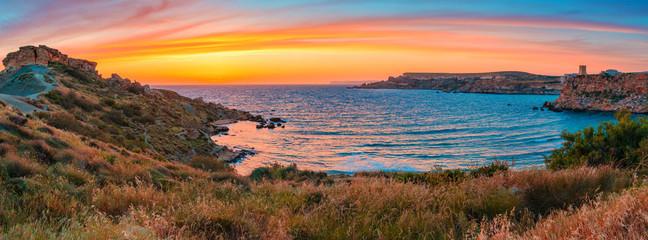 Fototapete - Evening seascape