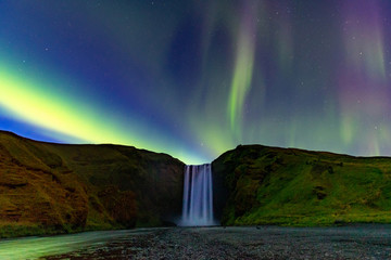 Foto op Plexiglas Noorderlicht Northern Lights In Iceland