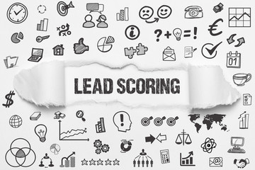 Fototapeta Lead scoring