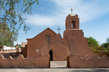 Antigua iglesia del pueblo de San Pedro de Atacama