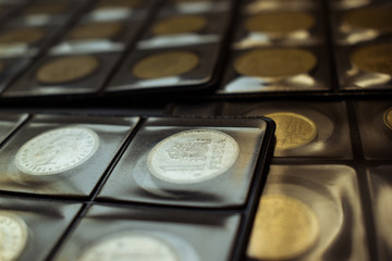 numismatics, collect spanish old coins