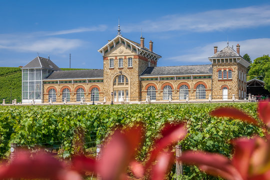 Epernay, France - Fort Chabrol in Epernay (UNESCO World Hritage)