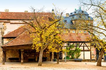 Wall Mural - Historisches Bamberg - Alte Hofhaltung und Neue Residenz, Deutschland