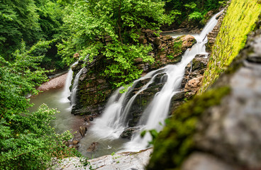 Mine Creek and Waterfall Kocaali Sakarya Turkey