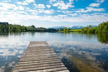 Tourismus - Bergsee im Allgäu